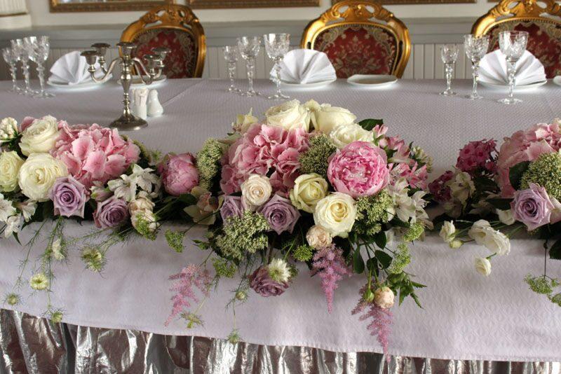 Флористика свадебного стола