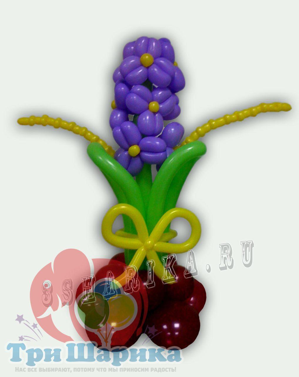 Цветы из органзы своими руками (букет, топиарий).Мастер