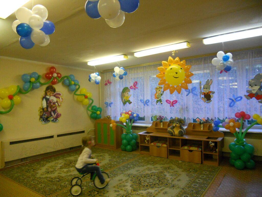 Украшение площадок в детском саду фото